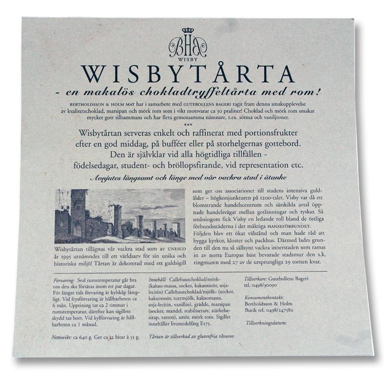 Info Visbytarta